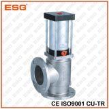 Тип дренажный клапан фланца нержавеющей стали
