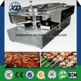 Machine rotatoire de gril de Yakitori de machine de Gril de viande de modèle électrique de gaz