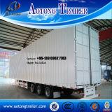 Tipo del rectángulo de cargo del transporte del cargo acoplado resistente de Van semi