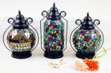 Tonalità domestica della lanterna/lampada di vetro di mosaico della decorazione