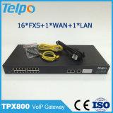 중국 공장 SIP Comm 16 운반 FXO 게이트웨이에서 직접 사십시오