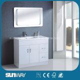 Vanità classica della stanza da bagno del MDF di stile del Canada con lo specchio