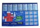 Kalender-Gegenoberseite-Matten für schützenden Schreibtisch