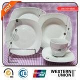 Hoogste die Kwaliteit 18PCS Dishware voor het Gebruik van het Hotel van het Huis wordt geplaatst
