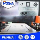 Poinçonneuse de tourelle de commande numérique par ordinateur pour la machine de perforateur de presse de plaque en acier
