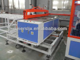 Cadena de producción de alto rendimiento de la tarjeta del Windowsill del PVC máquina de la protuberancia