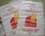 Bolso tejido polipropileno a Polonia para la harina, arroz, grano, cereal, arena