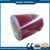 Tira de aço galvanizada PPGI colorida de SGCC nas bobinas