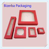 Form-Plastikfenster-Schmucksache-Verpackungs-Geschenk-Kasten