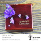 Hongdao passte hölzernen Geschenk-Kasten für Juwel-Ring _E an