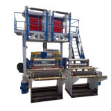 Máquina soplada solo plástico de la película de la pista del doble del tornillo del LDPE del HDPE Z55-700-2