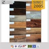 Plancher en bois de PVC de vinyle de regard d'UE et de noix insonorisée normale de l'Amérique
