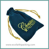 Velvet Gift Pouch with High Quality Velvet Jewelry Pouch Bag