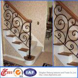 Dekoratives europäisches kurzes bearbeitetes Stahleisen Handrails/Railings