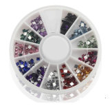 Mix Color 3D Nail Art Décorations Acrylic Diamond Shapes Strass