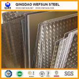 Placas de aço Checkered da Senhora Baixo Carbono Q235 A36 da alta qualidade