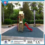 Recycleer de Rubber RubberTegels van de Tegel/van de Speelplaats/Kleurrijke RubberBetonmolen