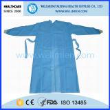 Nichtgewebtes medizinisches chirurgisches Kleid