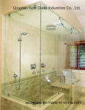 """3/8 """", di comitato della stanza da bagno dell'acquazzone di 1/2 """"/occhiali di protezione Tempered di vetro di vetro portello interno dello schermo con Ce SGCC"""