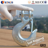 H331 Steel Drop Forged Galvanized Clevis Slip Hook mit Latch