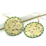 خضراء حبل لفاف نوع ذهب لون يختم [بوتّرفلي فلوور] ورقة حلول
