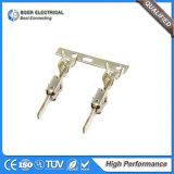 La terminal del cable de los conectores de la espada del alambre del altavoz termina DJ616-2.8*0.8b