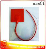 120*120*1.5mm 3D Printer Verwarmde RubberVerwarmer van het Silicone van het Bed 12V 100W