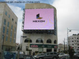Pantalla LED Outdoorp10 a todo color de alta definición para panel publicitario