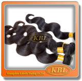 Перуанское выдвижение человеческих волос от продукта волос Kbl