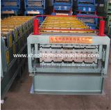 Roulis chaud de panneau de toit de paquet de double de vente formant la machine (XH1050-1080)