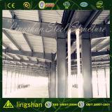 Edificio prefabricado industrial del marco de acero
