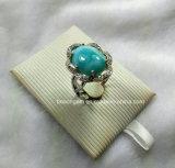 Jewellery-Естественный серебр Larimar стерлинговый звенит (R1366)