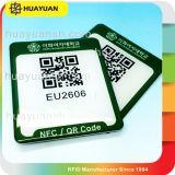 忠誠システムprogarammeのQRcodeの印刷RFID PVC NTAG215 NFC札