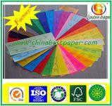 Papier d'emballage coloré pour le sac à provisions