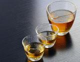 環境に優しい機能ホウケイ酸塩ガラスのビールのジョッキジュースのコップ状水晶ガラスのコップ
