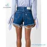 New Design Women Printing Minipants Denim Shorts