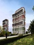 3D Menselijke Huis die van de Visualisatie met het Prachtige Werk teruggeven