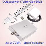 WCDMA 3G 중계기 2100MHz 악대 전송기와 수신기 이동할 수 있는 신호 승압기