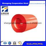 고품질 전성기 PPGI는 중국에 있는 직류 전기를 통한 강철 코일을 Prepainted