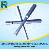 Des morceaux de foret de faisceau de diamant de Romatools pour la pierre, béton, en céramique - mouiller l'utilisation Dcb-015