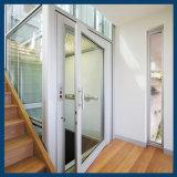 Petit ascenseur de construction réparé par modèle en verre à la maison panoramique de Chambre