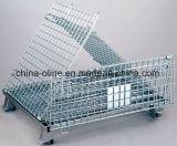 Doblado de metal jaula de almacenamiento a granel (1000 * 800 * 840)