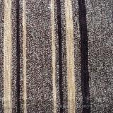 Tissu 100% teint de fils de polyesters de Chenille de jacquard pour des couvertures de sofa