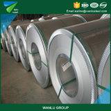 La hoja de metal, colorea la bobina de aluminio sumergida caliente de la prima de acero revestida de la bobina, bobina de acero galvanizada cubierta cinc