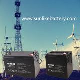 Bateria profunda acidificada ao chumbo 12V100ah do gel da potência solar do ciclo para Yemen
