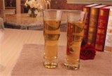 Taza clara del vidrio de cerveza del vino del jugo del agua para la cristalería de consumición