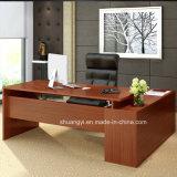 安いメラミンオフィス用家具、L形のオフィス表、Tableディレクター