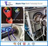 Tubo a parete semplice del merluzzo dell'HDPE che fa macchina/macchina ottica ondulata di plastica dell'espulsione del tubo del condotto