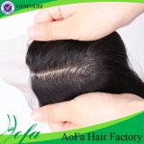 Prolonge brésilienne de cheveux humains de cheveu de Vierge d'onde desserrée non transformée neuve de la pente 8A
