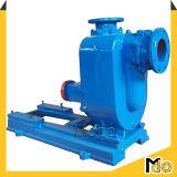 Individu horizontal amorçant la pompe centrifuge pour l'eau usagée